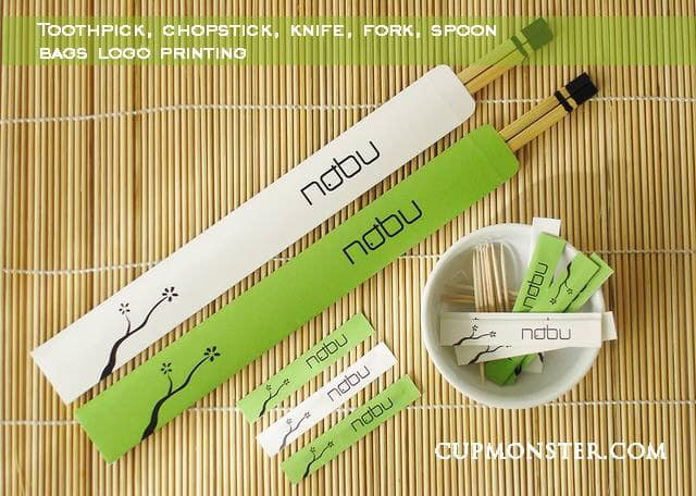 Cambodian Chopstick bag printing supplier